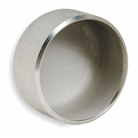 Cap, 1 1/2 In, 304L Stainless Steel