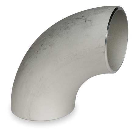 "4"" Butt Weld SS Long Radius 90 Degree Elbow Sch 40"