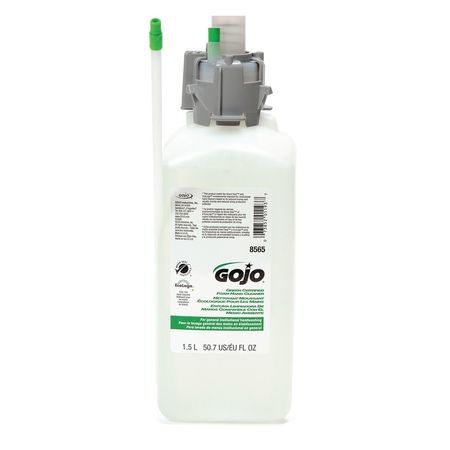 GOJO Foam Soap Refill, Size 1500mL, Yellow, PK2