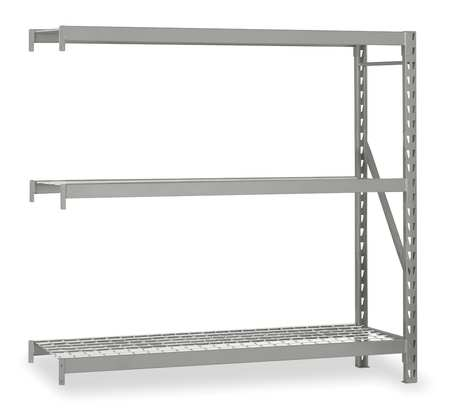 Bulk Storage Rack, Add-On, NSF, 96Wx24D