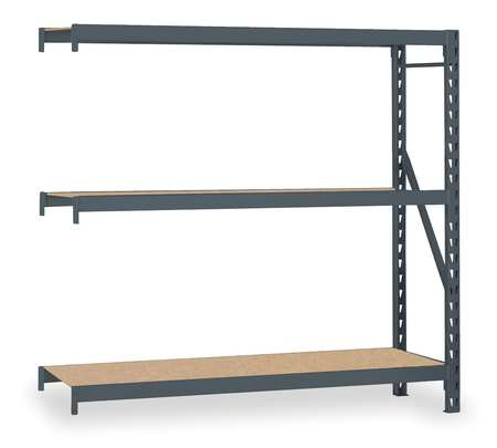 Bulk Storage Rack, Add-On, 72Wx24Dx72H In
