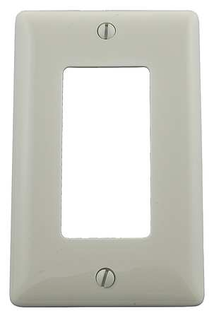 Rocker Wall Plate, 1 Gang, Office White