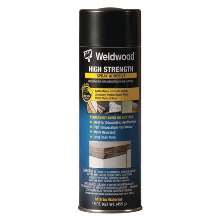 Spray Adhesive, VOC Compliant, 16 oz.