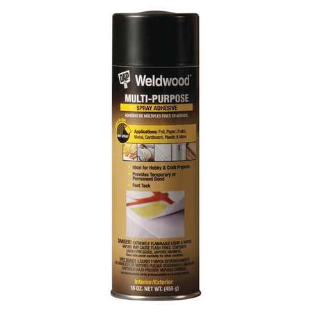 Spray Adhesive, VOC Compliant, 16 oz.