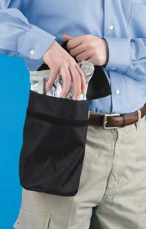 Respirator Carrying Bag, Black