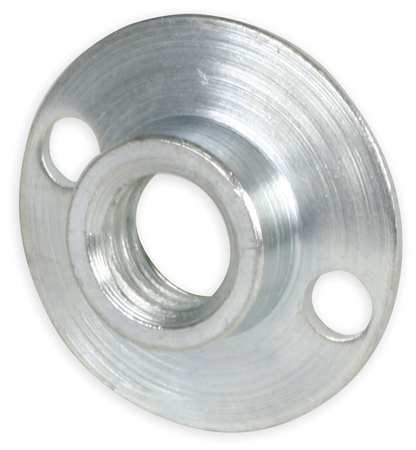 "5/8""-11 Steel Round Base Retainer Nut"