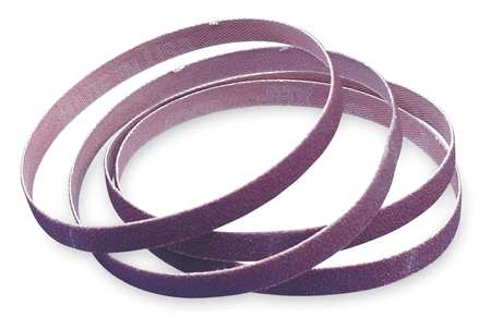 Sanding Belt, 1/2 In Wx12 In L, AO, 60GR