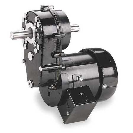 AC Gearmotor, 6.5 rpm, TEFC, 115/230V