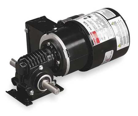 AC Gearmotor, 41 rpm, TEFC, 115/230V