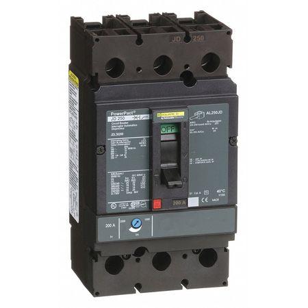 3P Standard Circuit Breaker 200A 600VAC