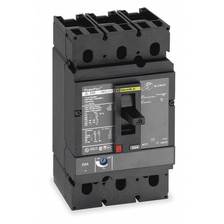 3P Shunt Trip Circuit Breaker 250A 600VAC