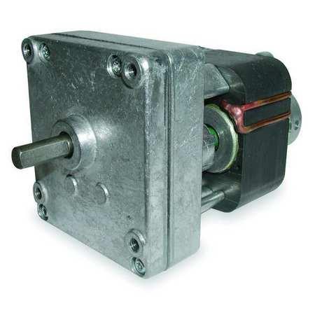 AC Gearmotor, 2.2 rpm, Open, 115V