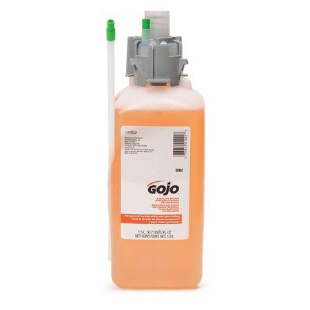 GOJO Antibacterial Soap Refill, Foam, 12 oz, PK2