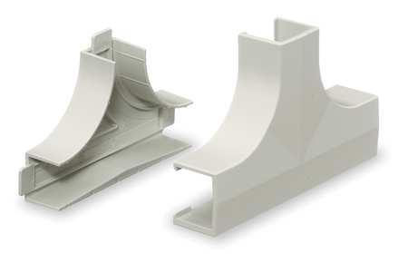 Tee Base and Cover, White, PVC, Tees