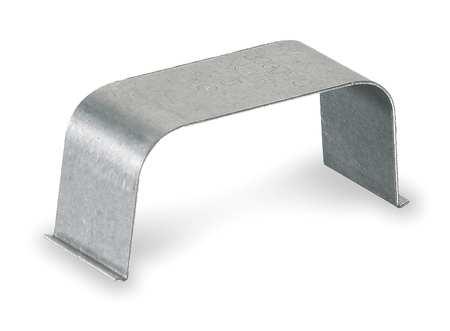 Wire Clip, Gray, Steel, Clips