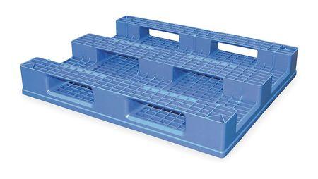 Plastic Pallet Skid Combo, 48L X 40W