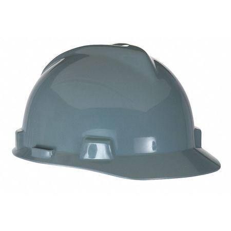 Hard Hat, Front Brim, Fastrac, Gray