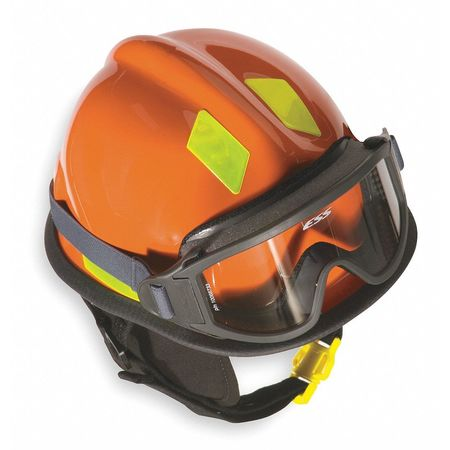 Fire and Rescue Helmet, Orange, Modern