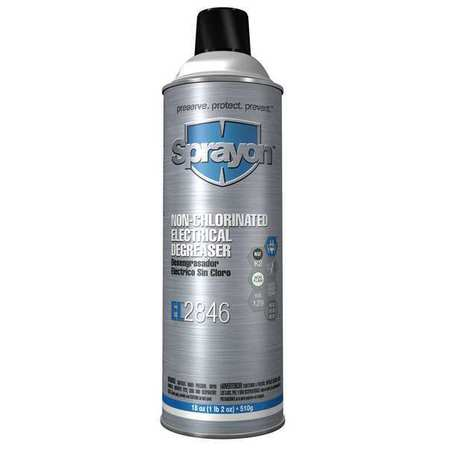 Electrical Degreaser, Size 20 oz., 18 oz.
