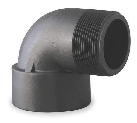 "3/4"" FNPT x MNPT 90 Degree Street Elbow Sch 80"