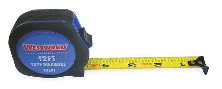 Tape Measure, 3/4 Inx12 ft., Carbon Steel