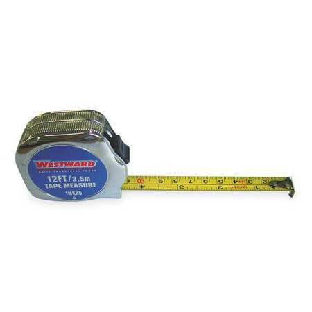 Tape Measure, 1/2Inx12 ft., Carbon Steel
