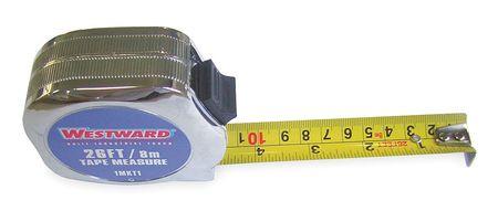 Tape Measure, 1Inx26 ft., Carbon Steel