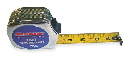 Tape Measure, 1Inx30 ft., Carbon Steel
