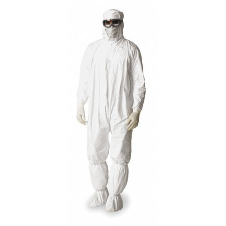 Hooded Tyvek(R), Serged, Elastic, 3XL, PK25