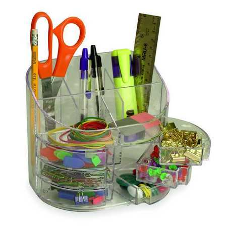 Desk Organizer, Color Clear