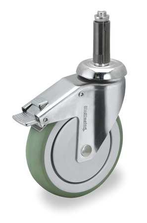 Swivel Stem Cstr w/Totl Lock, 4 in, 190 lb