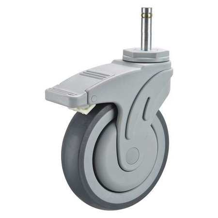 Swivel Stem Cstr w/Totl Lock, 5 in, 325 lb