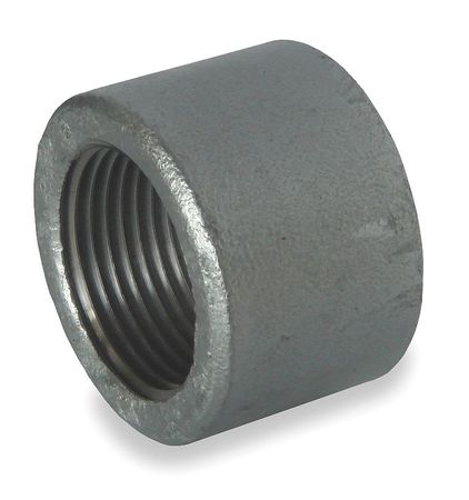 """1/2"""" FNPT Galvanized Cap"""