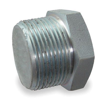 "3/4"" MNPT Galvanized Hex Head Plug"