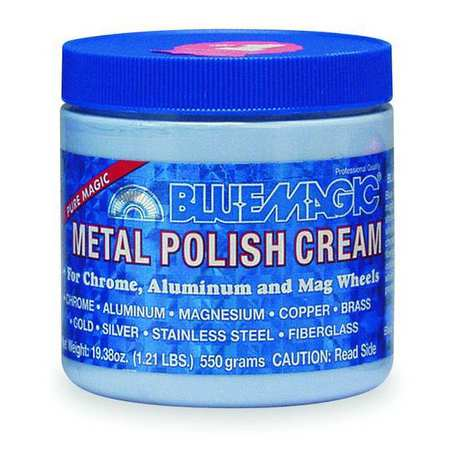 Metal Polish Cream, Size 19-3/8 oz., Tub