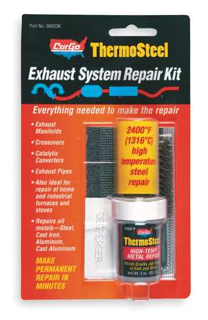 Crack Repair Kit, High Temp, Dark Gray
