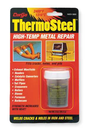 Metal Repair, High Temp, Dark Gray, 3 Oz