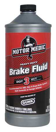 Brake Fluid, 32 Oz, Yellow, Transparent