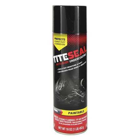 Autobody Undercoating, Black, 16 Oz