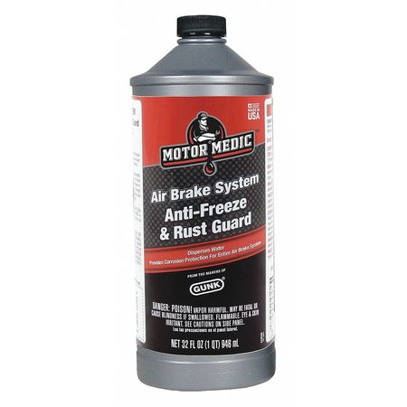Air Brake Fluid, 32 Oz, Blue, Clear
