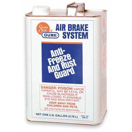 Air Brake Fluid, 1 Gal, Blue, Clear