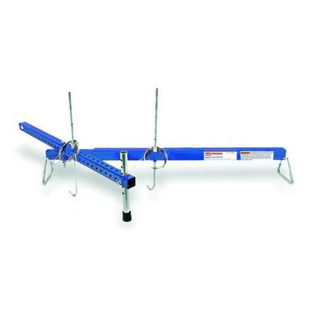 Engine Transverse Bar, Blue, 36-61in, Steel