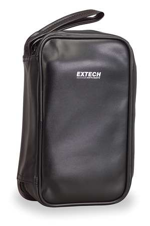 Carrying Case, 9-1/2 In. H, 2 In. D, Black