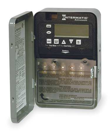 Electronic Timer, Astro 7 Days, SPDT