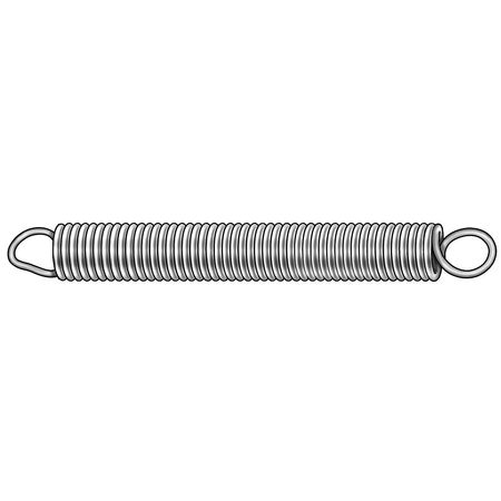 Steel Extension Springs - 3""