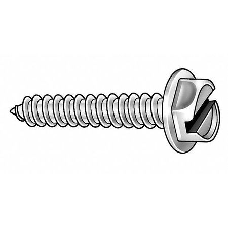 Piercing Screw, #8x1/2 In, PK1635