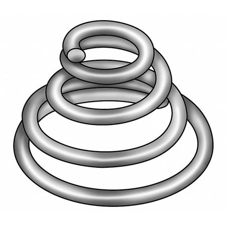 "Conical Compression Springs,  1-1/2"" Length"