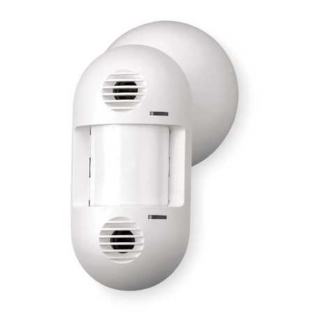 Occupancy Sensor, PIR/Ultra, 1600sq ft, Wht