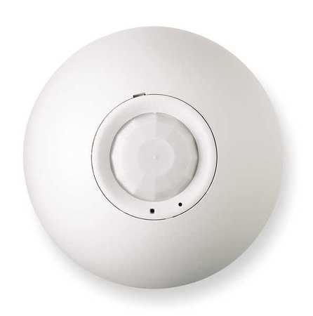 Occupancy Sensor, PIR, 1500 sq ft, White