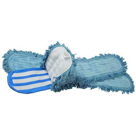 "Dust Mop Kit, 48""L, Microfiber"